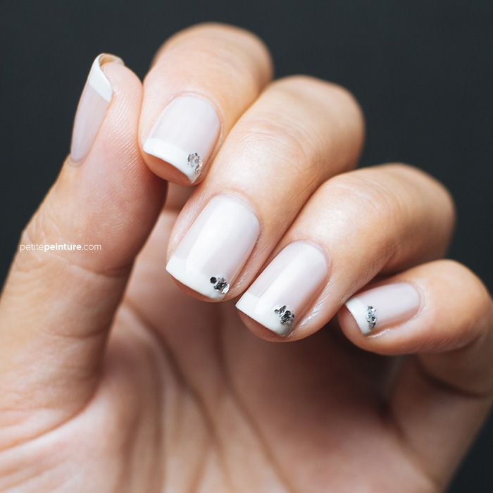 Easy Nail Art For French Tips - http://www.mycutenails.xyz/easy-nail ...