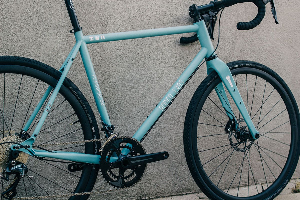 Flaanimal 3.0 adventure bike | Gravel Rando | Pinterest