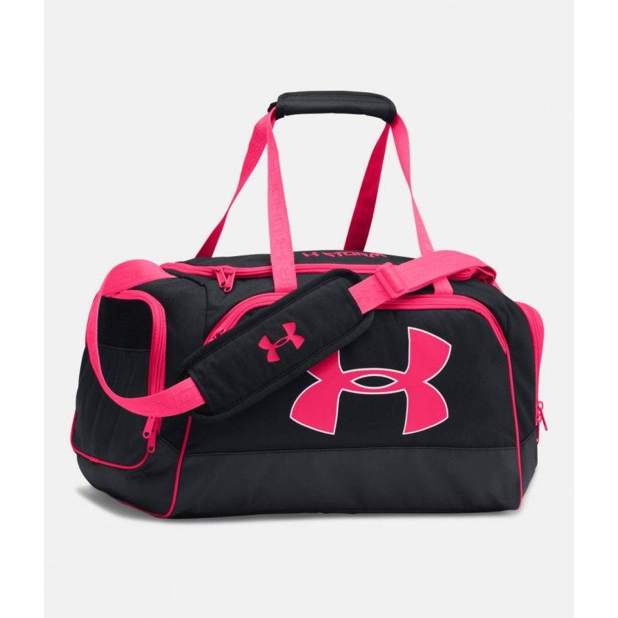 Dámská černá sportovní taška s růžovými prvky Under Armour  6c1026854f9
