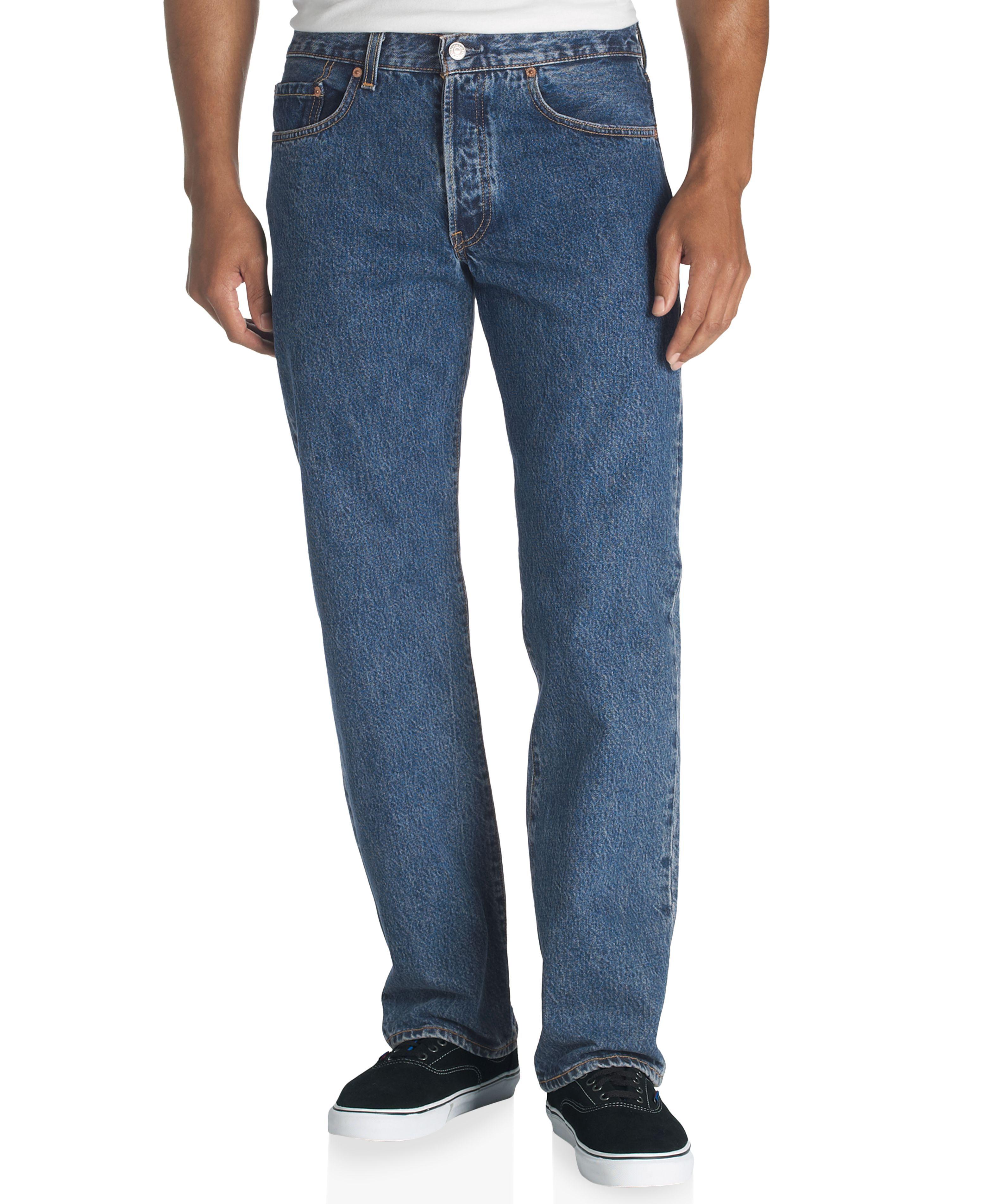 Levi's 501 Original-Fit Dark-Stonewash Jeans   Mens ...