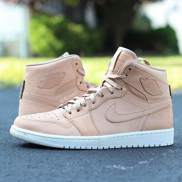 "new concept 5c324 3bb4d This luxurious ""Vachetta Tan"" Air Jordan 1 is scheduled to release next  month. Is this a cop or a pass"