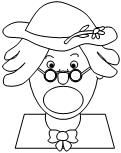 Coloring Pages for There Was an Old Lady Who Swallowed a ...