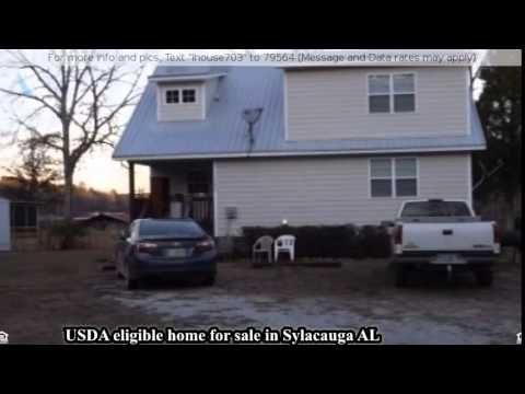 USDA eligible home for sale in Sylacauga AL - YouTube