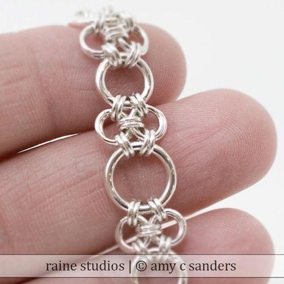 1 MM WIRE 8 MM 5 STRONG HEAVY STERLING SILVER OPEN JUMP RINGS