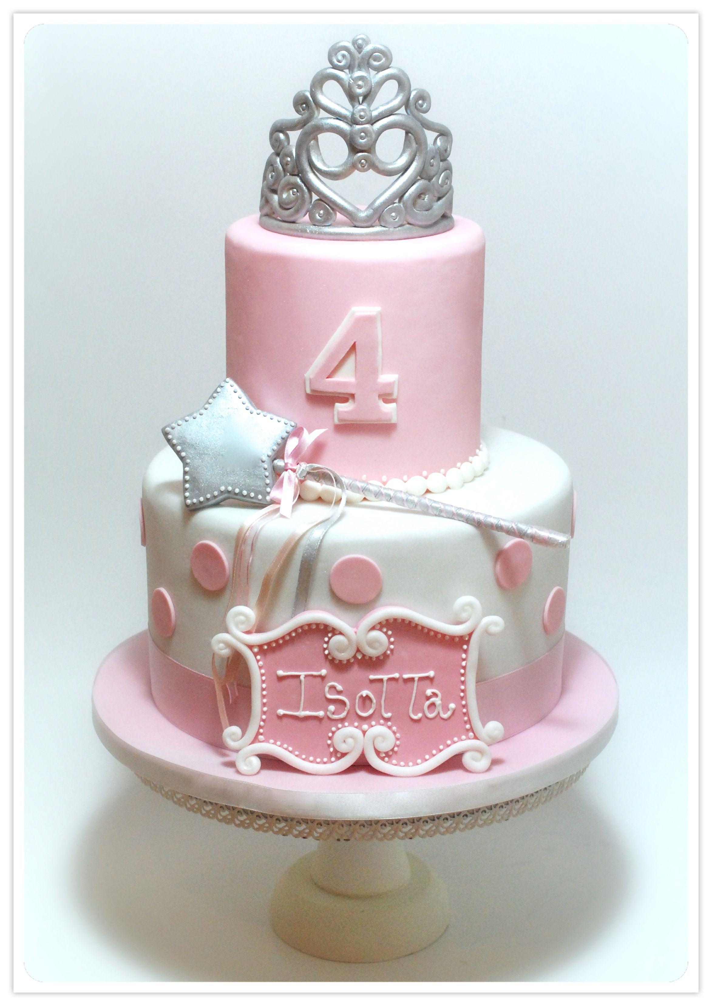 PRINCESS CROWN CAKE childrens cake Pinterest Princess crown