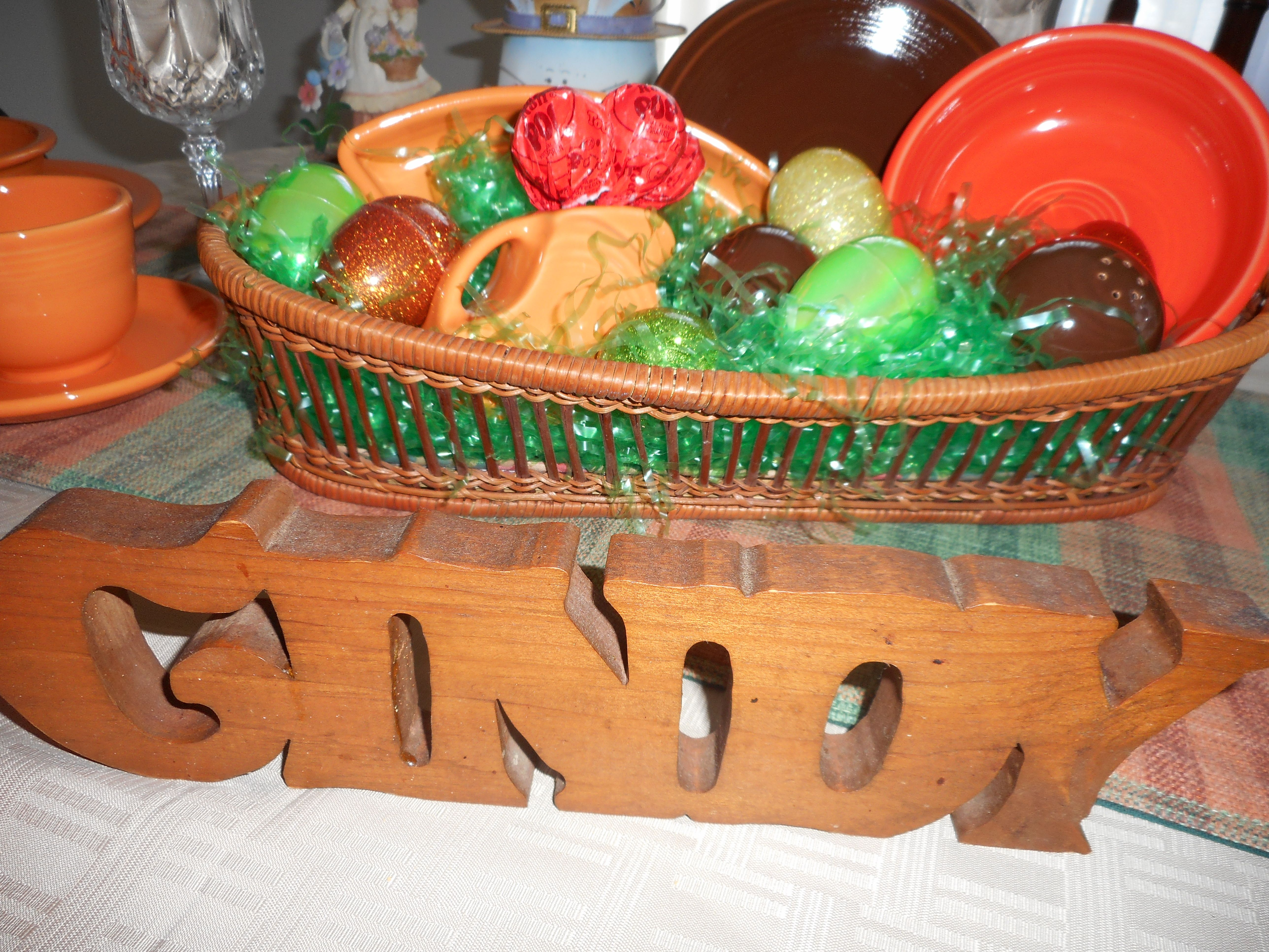 Cindy's fiesta centerpiece
