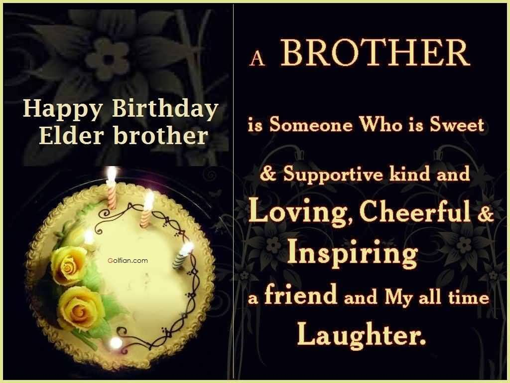 Birthday Wishes For Elder Brother Greetings Pictures
