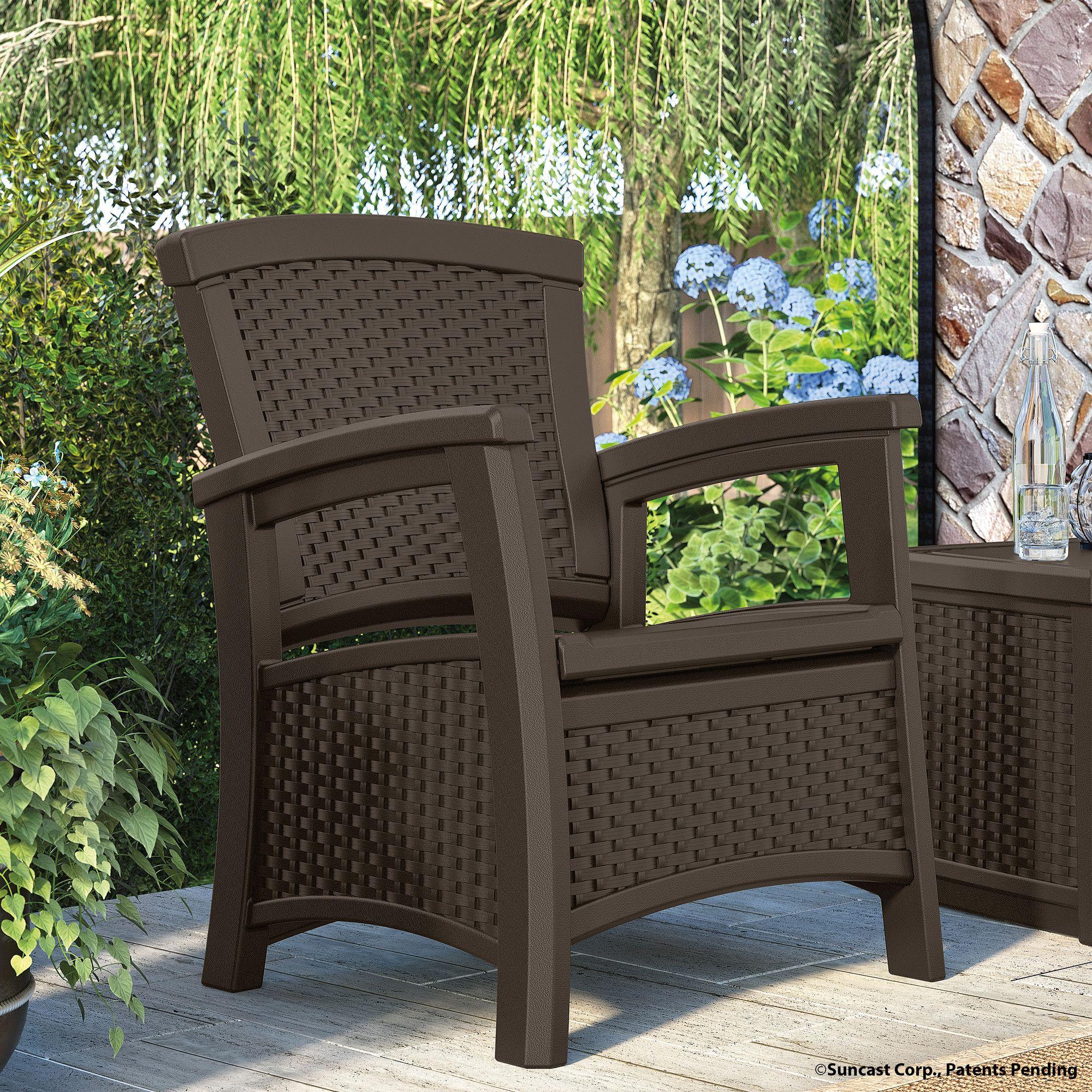 Suncast Elements Club Chair & Reviews Wayfair Patio