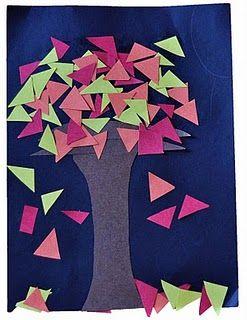 Fall shape tree..