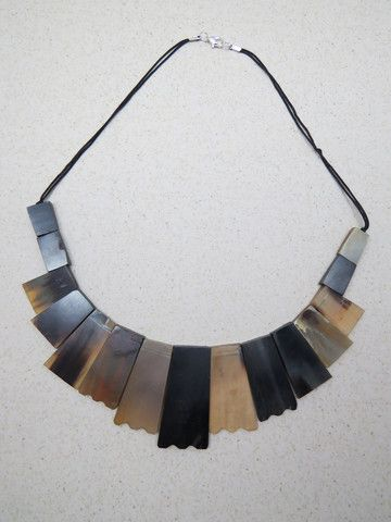 Himlay Necklace Handcrafted necklace from horn made by artisan