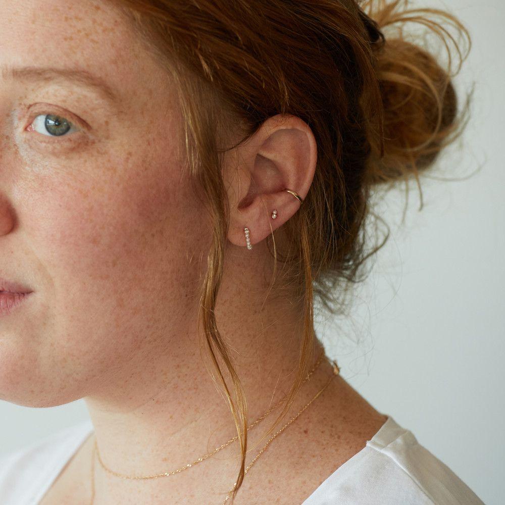 04aca3594 Baby Pearl Hoop (single)   Accessories   Baby pearls, Pearls, Jewelry