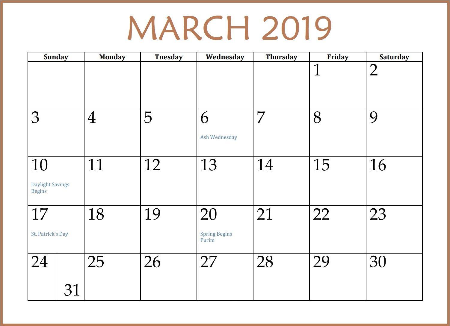March Calendar Printable Marchcalendar March Calendar Calendarmarch