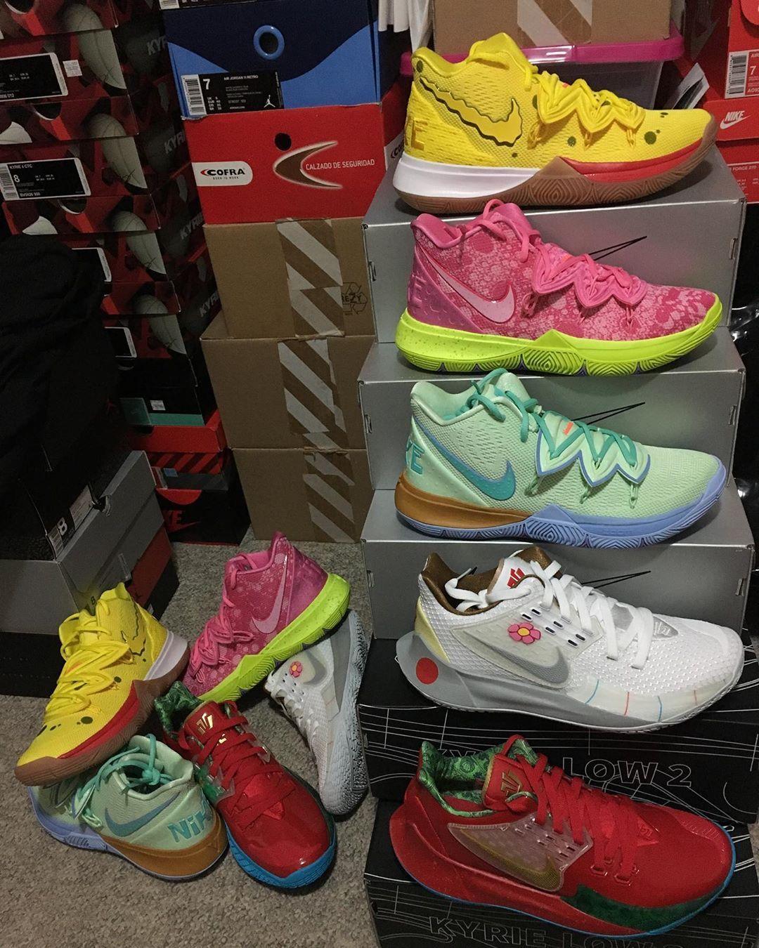 Kyrie 5 Spongebob Squarepants Zapatos Nike Zapatos Deportivos