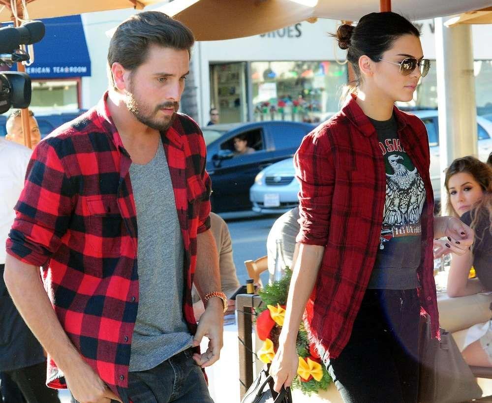 Scott Disick And Kendall Jenner Go Skydiving Despite Drama