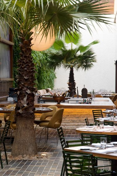 Placemats Napkins Kaa Restaurante Exterior Decor Tropical Interior Restaurant Design