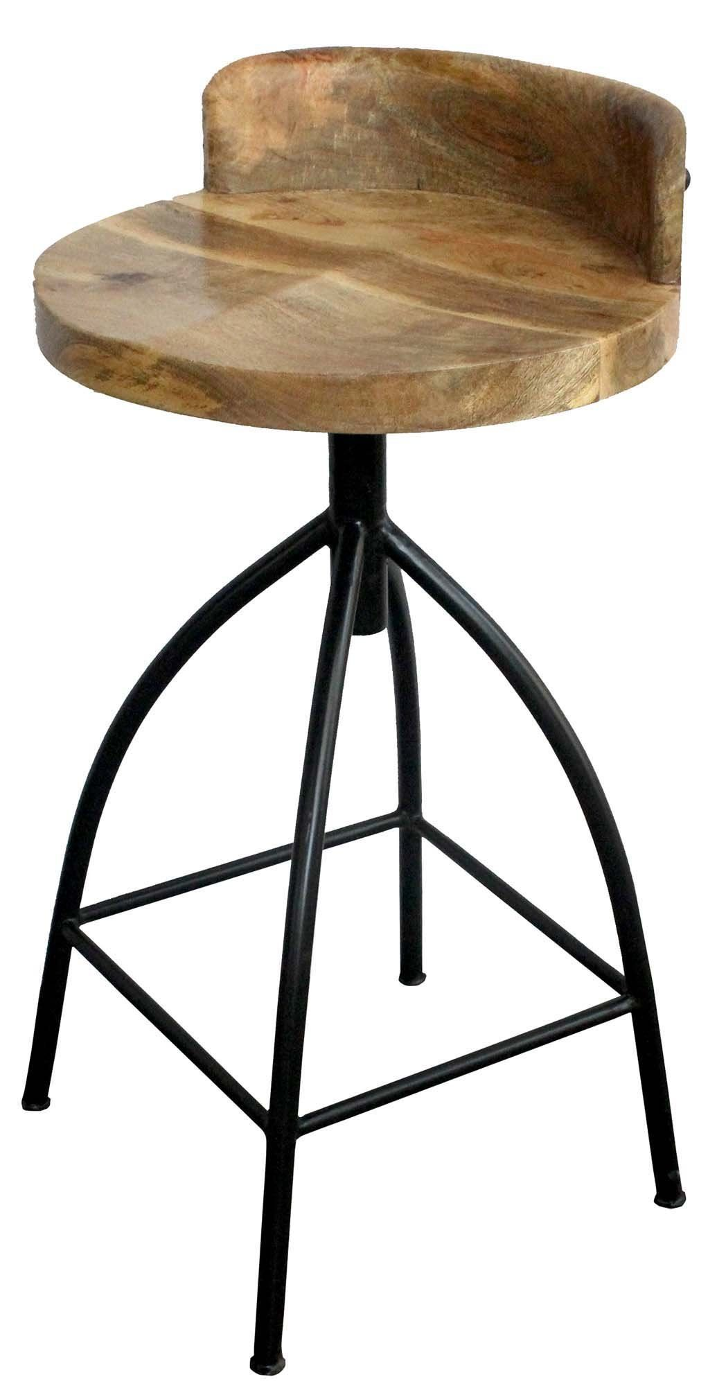 28 Industrial Style Adjustable Counter Stool Black And Brown By The Urban Port Counter Height Stools Swivel Bar Stools Bar Stools