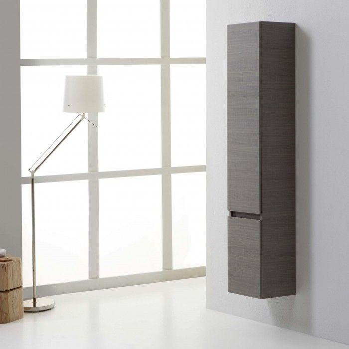Colonna pensile sospesa per bagno con due ante modello