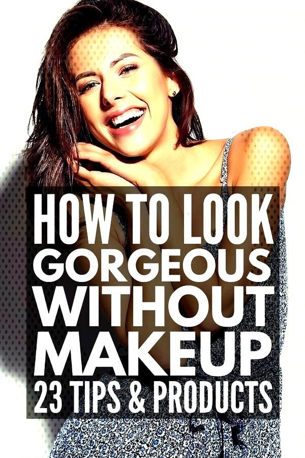 without Makeup   Always in a rush when you're getting ready for school or work? Need simple tips