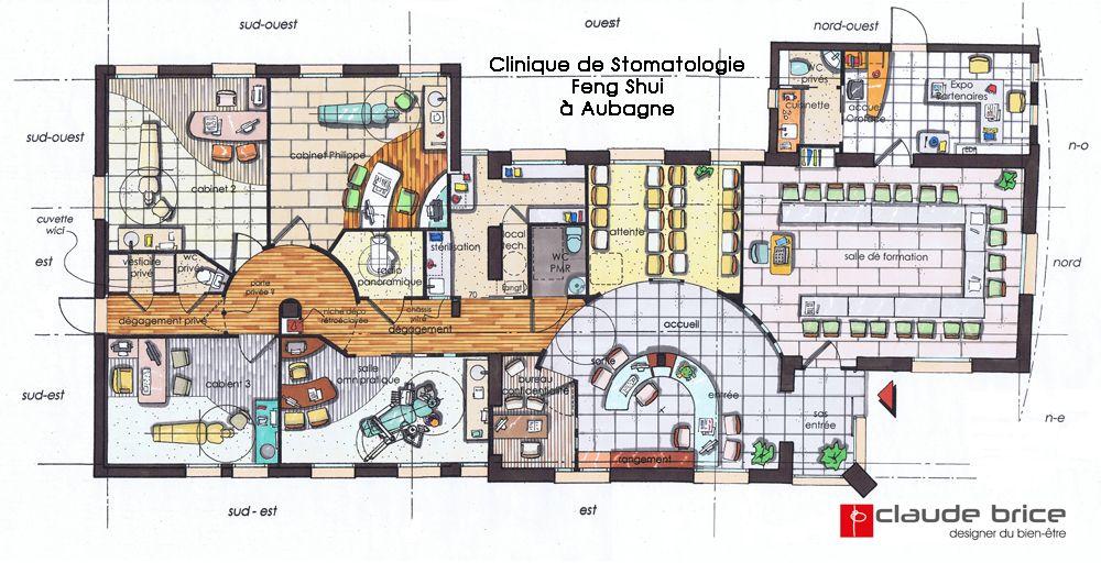 Architecture Feng Shui Professionnel - Clinique De Stomatologie À