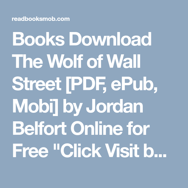 Download Wolf Of Wall Street
