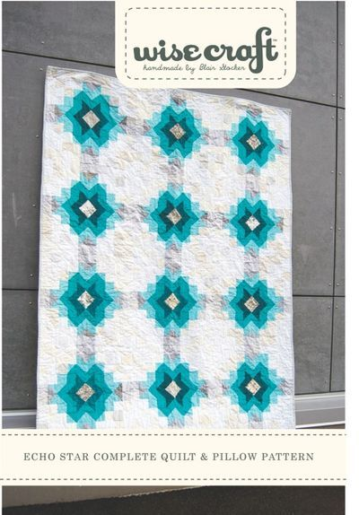 Echo Star new quilt pattern by wise craft.