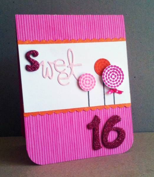 Sweet 16 Card Making Ideas Part - 31: Sweet Sixteen By Superjen - Cards And Paper Crafts At Splitcoaststampers