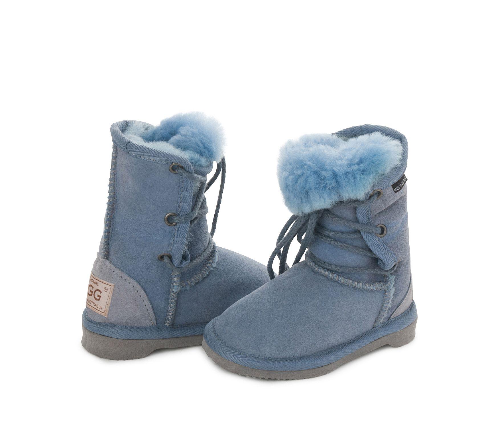 2ef33cd0646 Blue Lacey Kids UGG Boots #blue #aussie #ugg #uggboots #australian ...