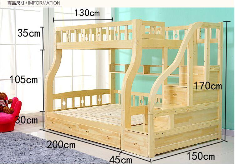 2015 moda ni os litera de madera hogar literas de for Literas de madera para ninos
