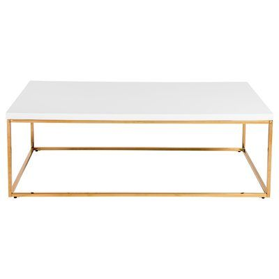 Travis Heights Coffee Table Coffee Table Marble Coffee Table
