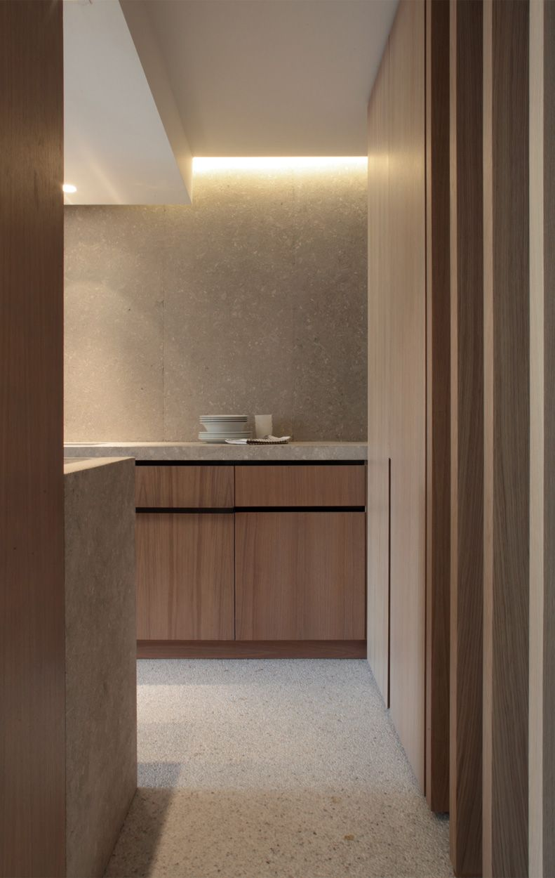 Interiors For Kitchen Fab Material Palette Inside This Costudio Designed Kitchen In