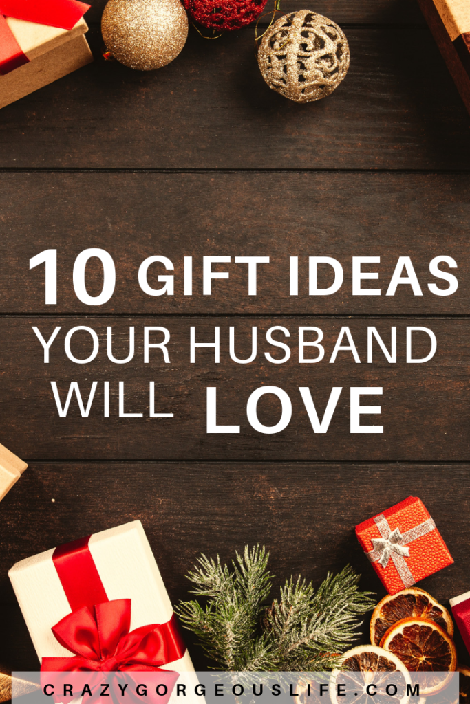 10 Gift Ideas Your Husband Will Love Last Minute Christmas Gifts Holiday Gift Guide Christmas Gifts For Husband