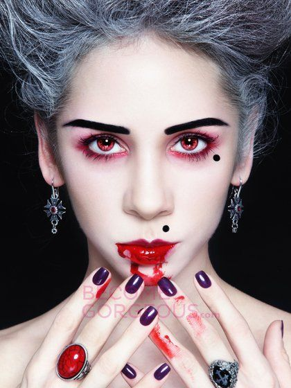 Easy Vampire Makeup for Halloween | Make-up Ideas ...