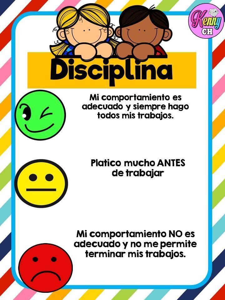 Resultado De Imagen Para Disciplina En Ninos Dibujo Semaforo De Conducta Educacion Emocional Infantil Educacion Emocional