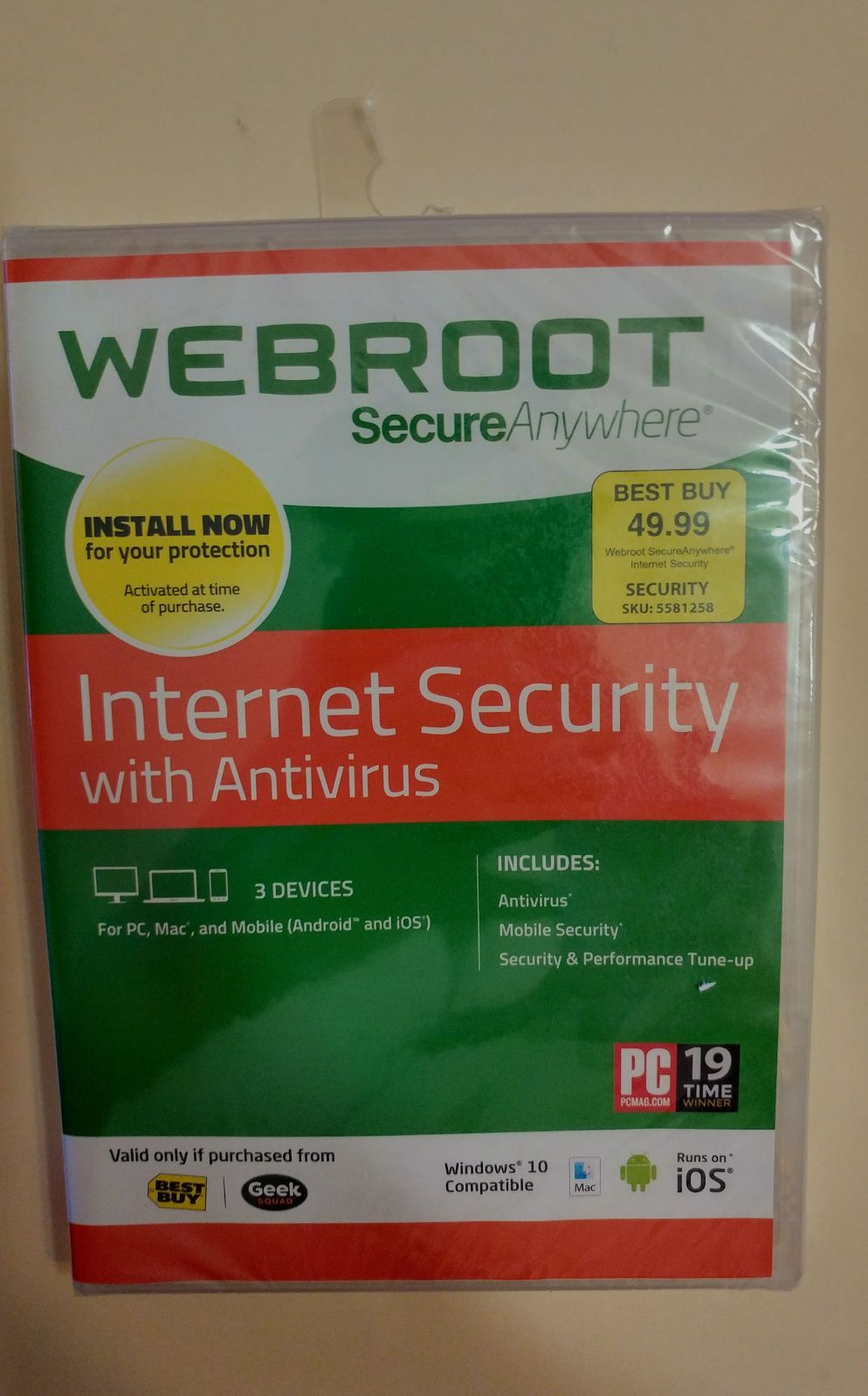 Webroot Internet Security Mercari In 2020 With Images Cool