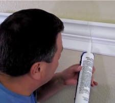 How to make good crown molding seams and joints