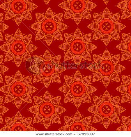 Henna pattern