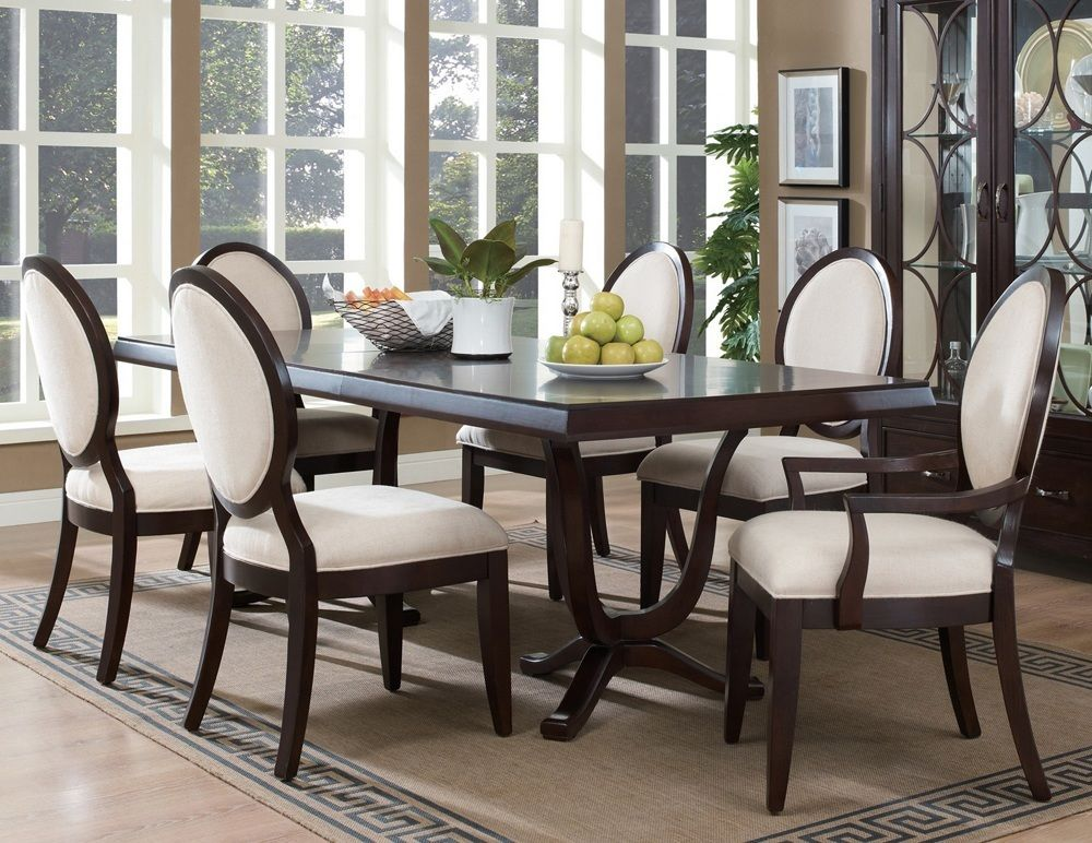 Elegant Black Wood Dining Table In 48 Wood Table Pinterest Awesome Best Wood For Dining Room Table