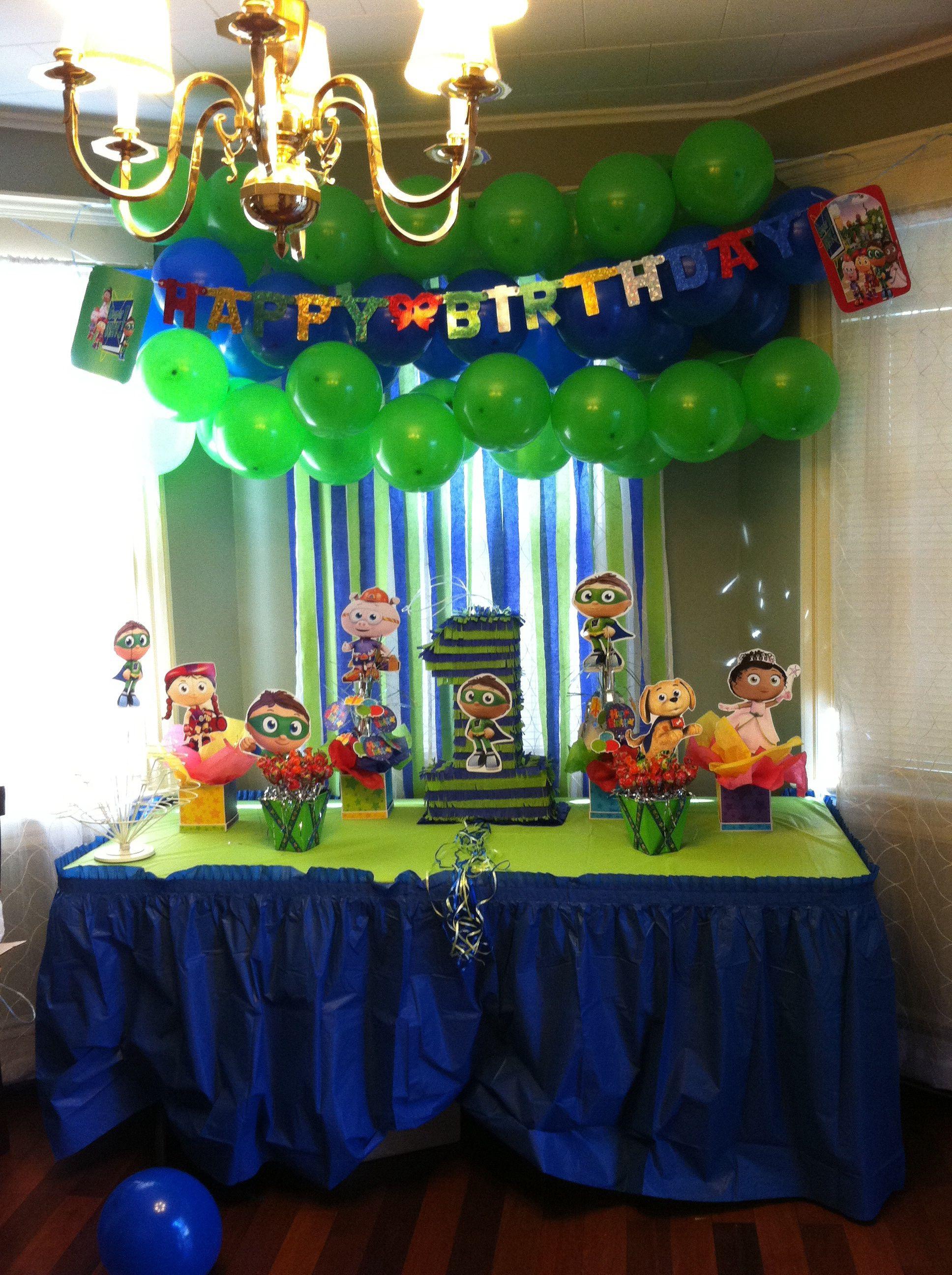 Super Why Pi 241 Ata 1 Super Why Birthday Super Why Boy