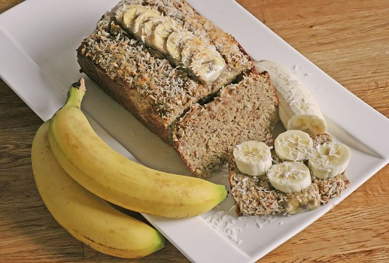 Paleo kuchen mit bananen