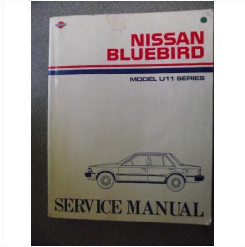 Nissan Bluebird Model U11 Series Service Manual Sm4e 0u11g0 On Ebid United Kingdom Nissan Manual Blue Bird