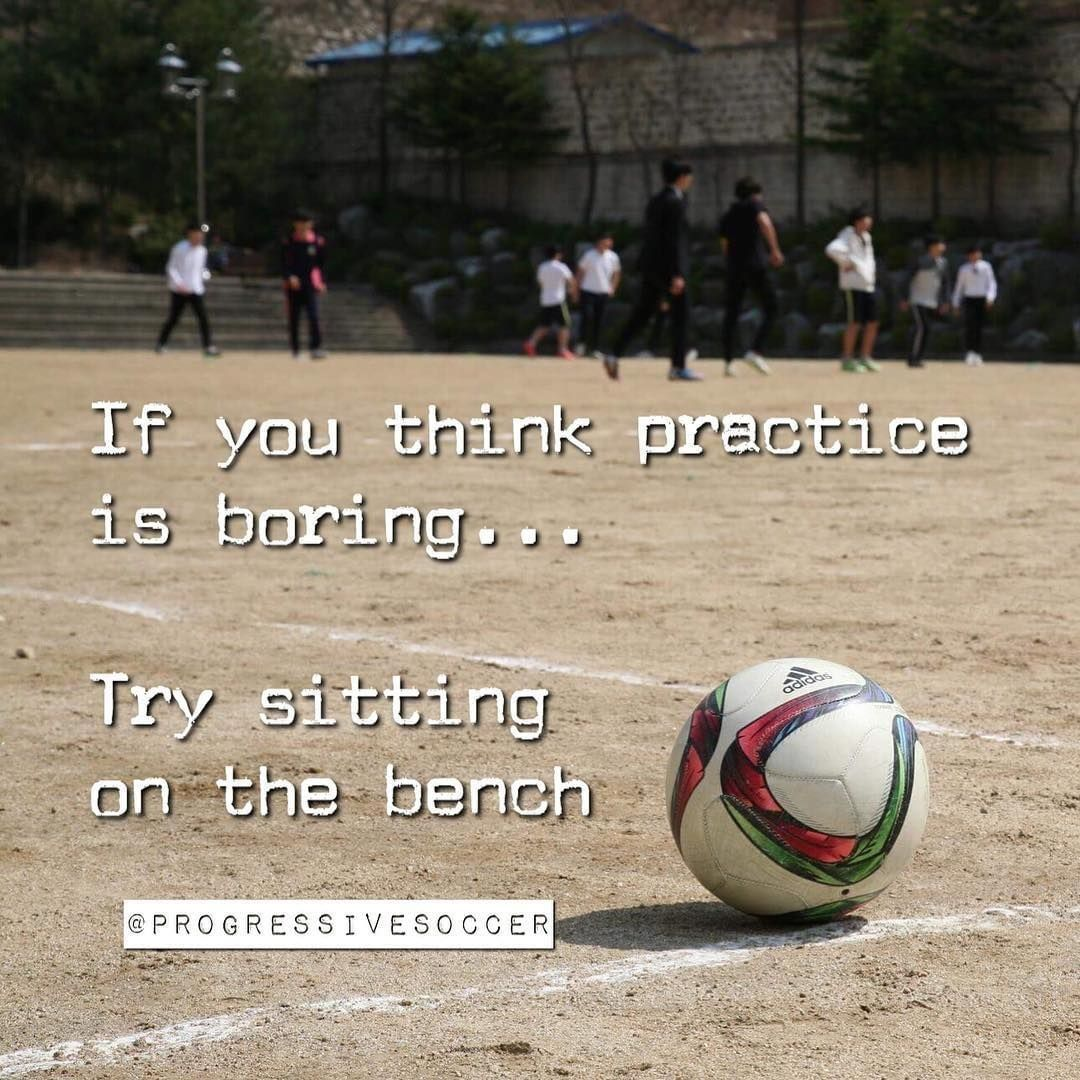 Too many players don't want to put in the practice but get