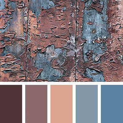 Earthy02 Vintage Color Palettes Schemes Pantone Colour