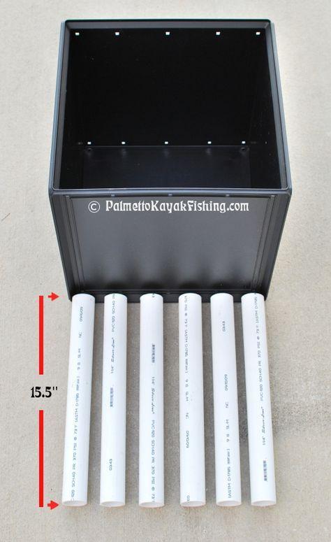 Palmetto Kayak Fishing: Ultimate DIY Kayak Crate
