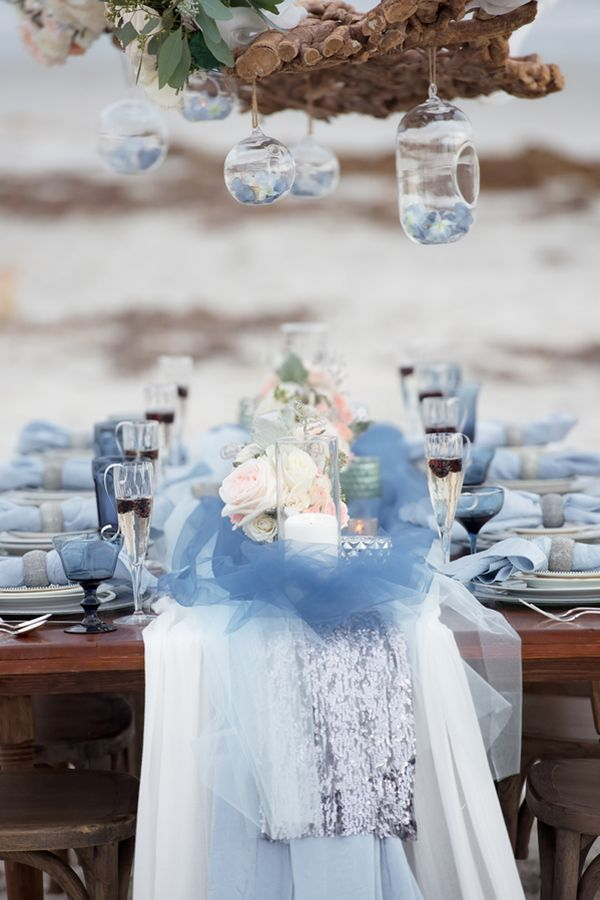Beachside Intimate Winter Wedding Inspiration