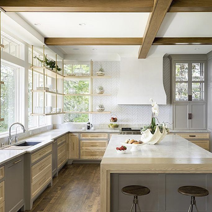 """25 Absolutely Gorgeous Transitional Style Kitchen Ideas: Ashley Childers On Instagram: """"I'm Such A Sucker For A"""