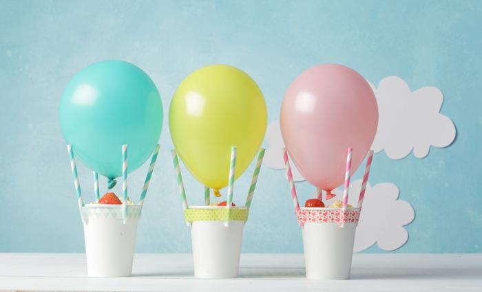 Fonkelnieuw Kindertraktatie: luchtballonnen | Babyborrel ballonnen, Jongen BY-43