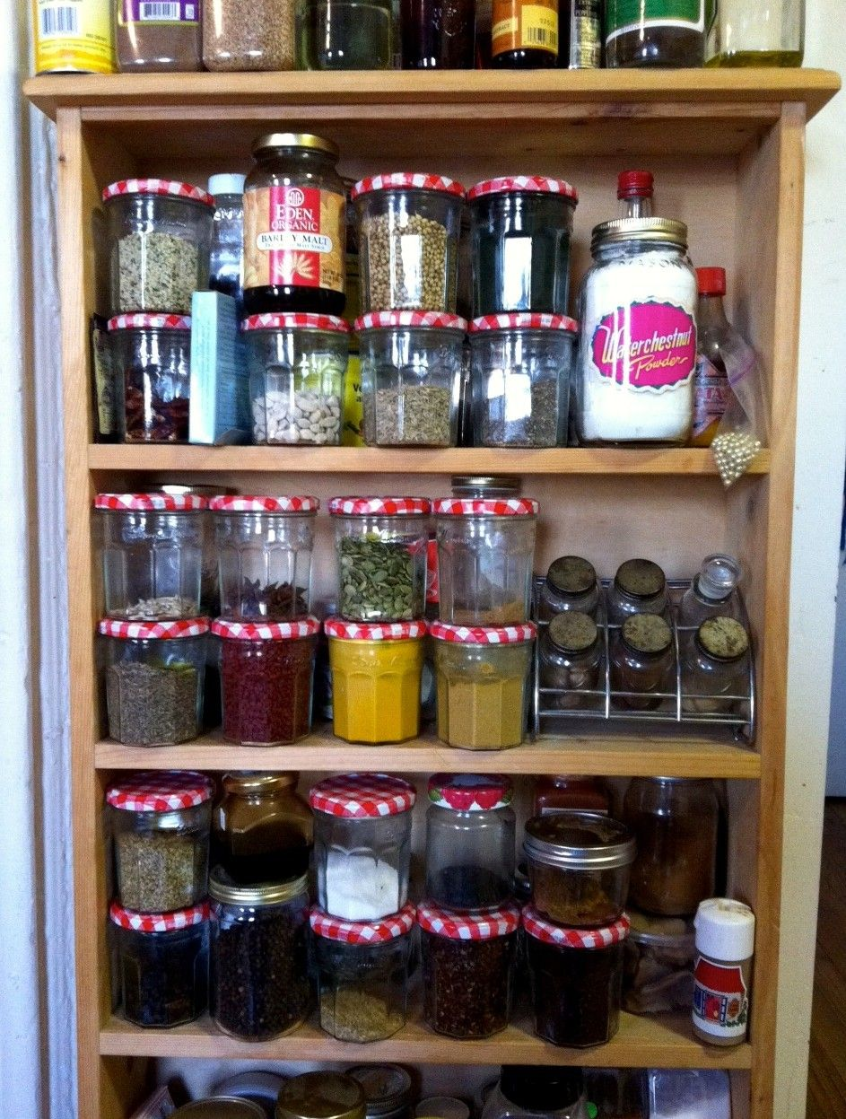 Bonne Maman Jars For Spices Spice Rack Food Storage Furniture