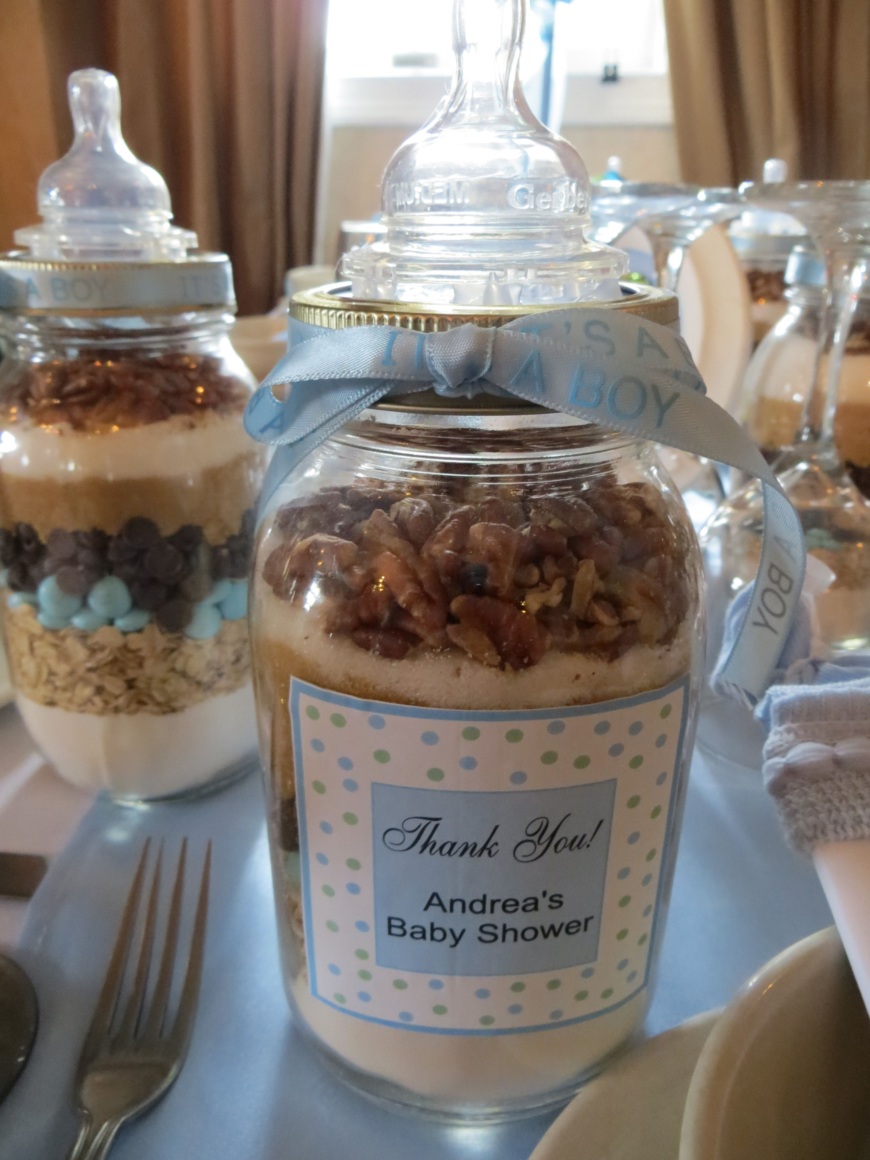 Cookie Mix Baby Shower Blue Green Candy Baby Shower Parties