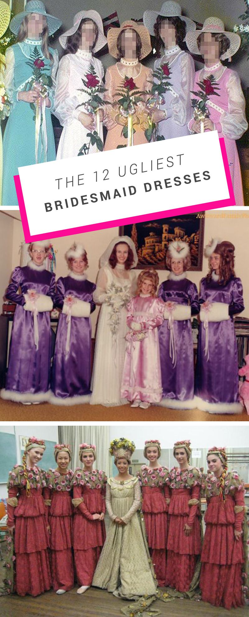 Worst bridesmaids dresses ever click here to see more http bridesmaid worst bridesmaids dresses ever ombrellifo Images