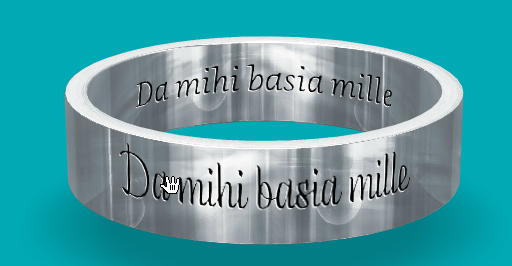 Engraving Wedding Ring Idea Getting A Love Quote In Latin